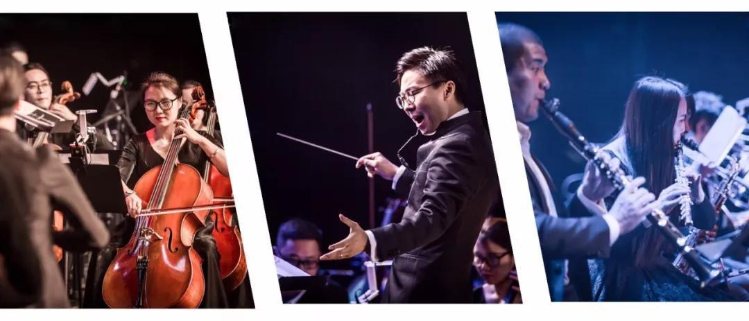 """""""郑州爱乐乐团""""全程伴奏、和声。"""
